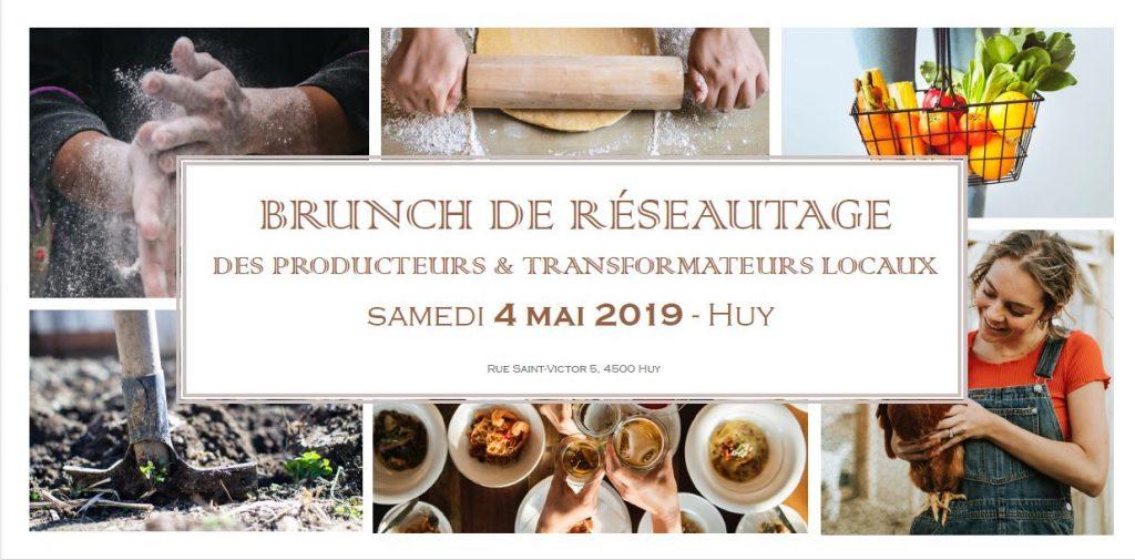 Invitation au brunch de réseautage du 4 mai 2019