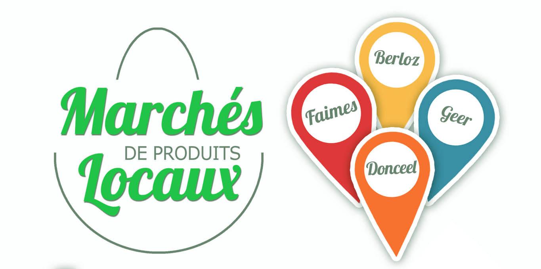 Marché des produits locaux: Berloz, donceel, faimes, geer