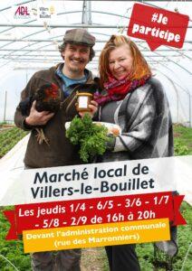marché local de villers-le-bouillet